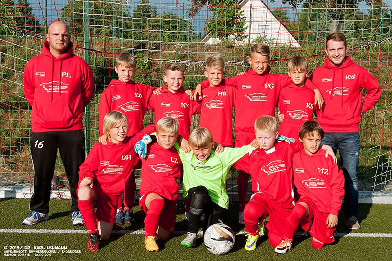 E-Junioren-Mannschaft 2015/16