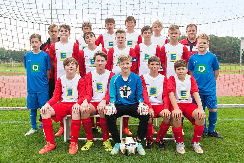 C-Junioren Mannschaftbild