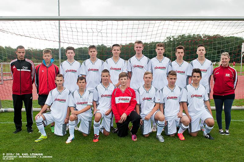 B-Junioren-Mannschaft 2015/16