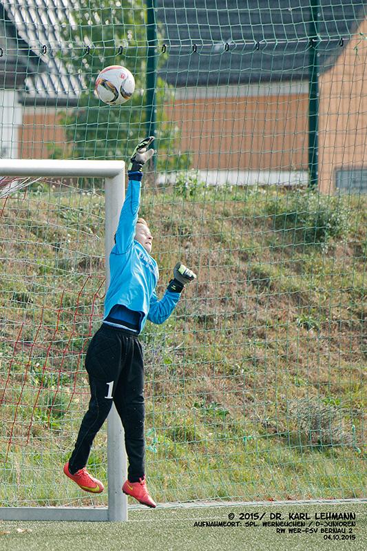 Punktspiel D- Junioren 2015 10 04