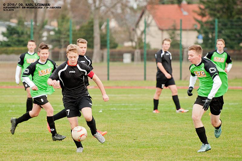 Punktspiel B-Junioren 2015 11 14