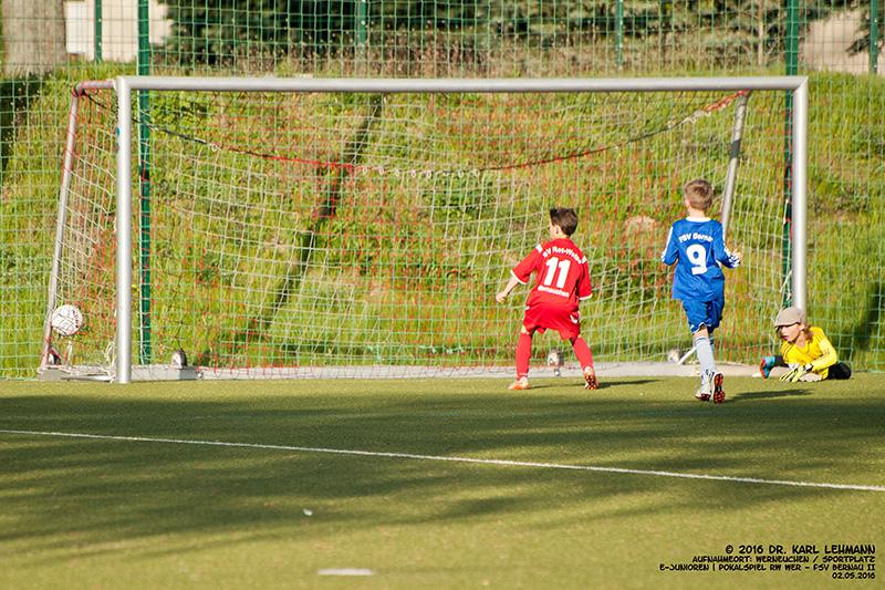 E-Junioren Pokalspiel RW WER_FSV Bernau II