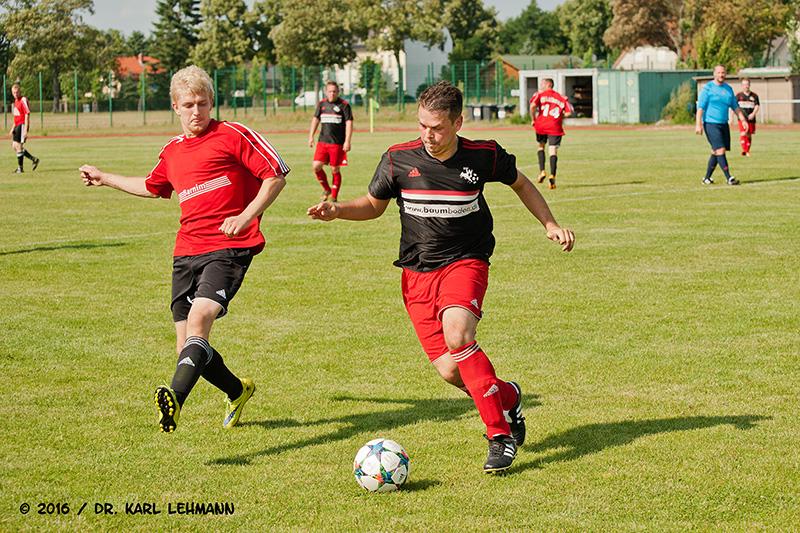 Saison-Vorbereitungsspiel RW WER - Lok Eberswalde
