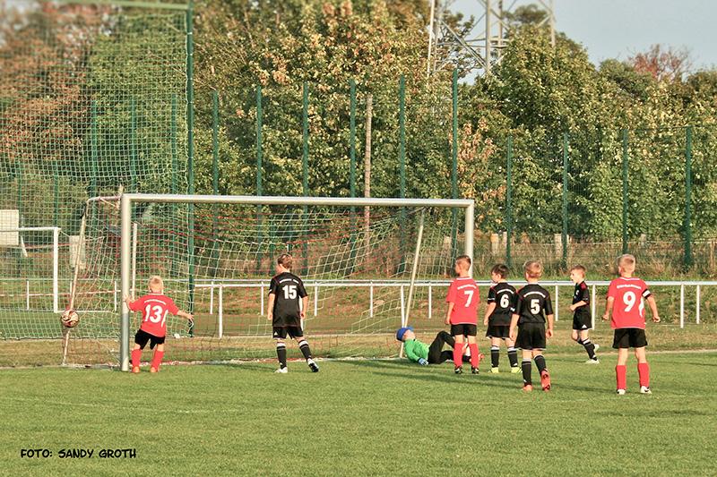 Punktspiel F1 Junioren Preussen Eberswalde II - SV RW WER