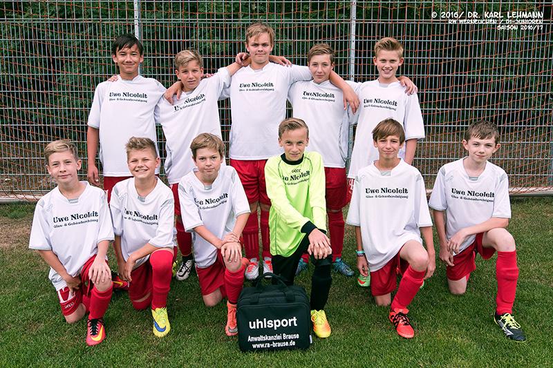 D1-Junioren RW WER | Saison 2016/17