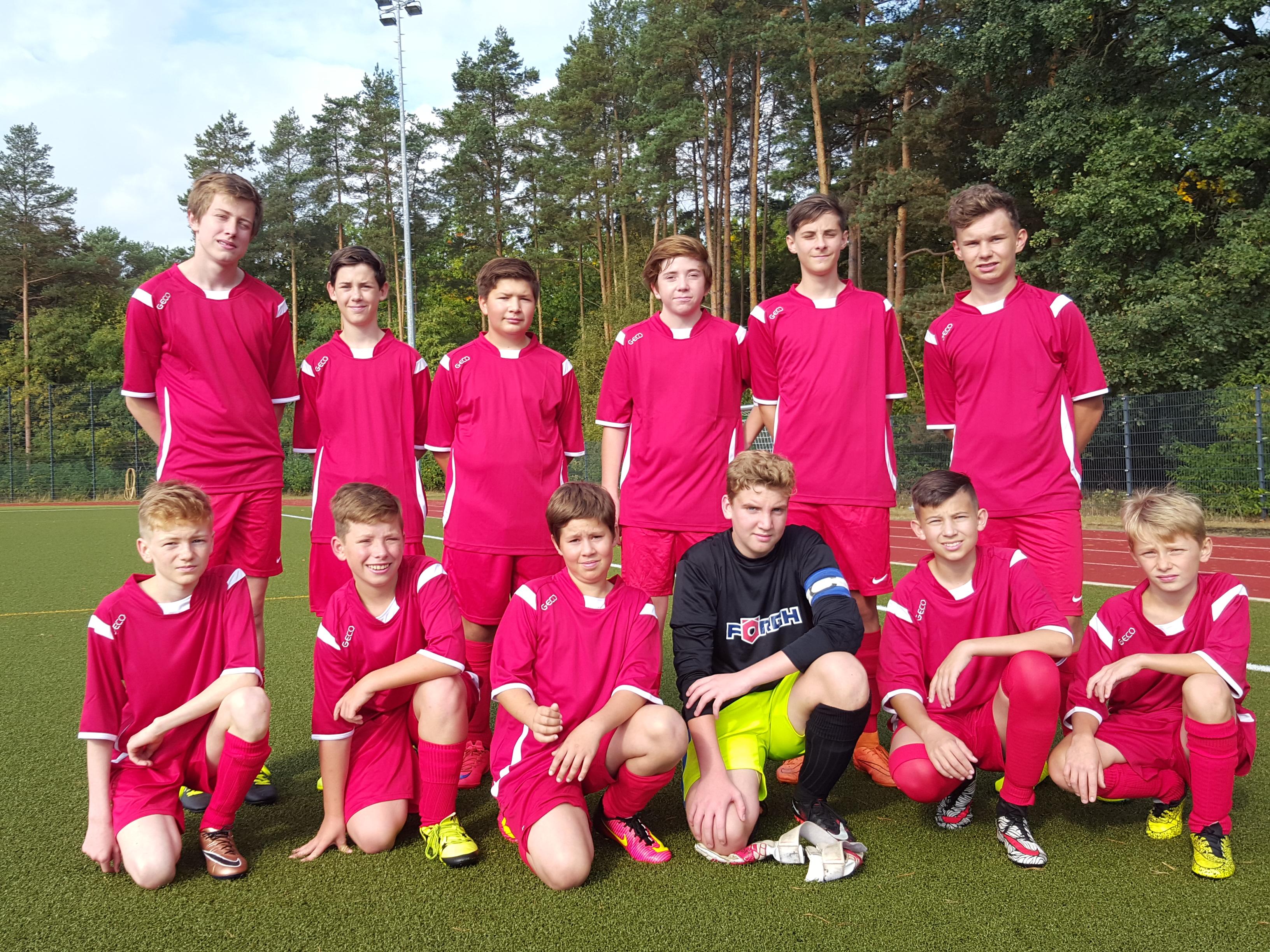 C Junioren Rot Weiss Werneuchen Mit Auswartssieg Fussball