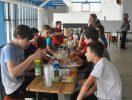 RWW Turnier Bild – gemeinsames Frühstück am nächsten Morgen