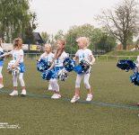 """Auftritt der Cheerleader """"Blue Motion"""""""
