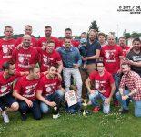 Meisterschaftsfeier Herren-Fußballmannschaft RW WER