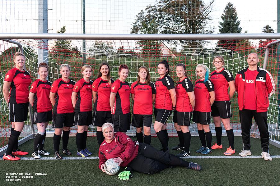 Mannschaftsfoto Frauen RW WER