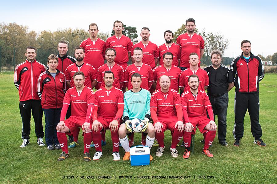 RW WER Herrenfußballmannschaft Saison 2017/18