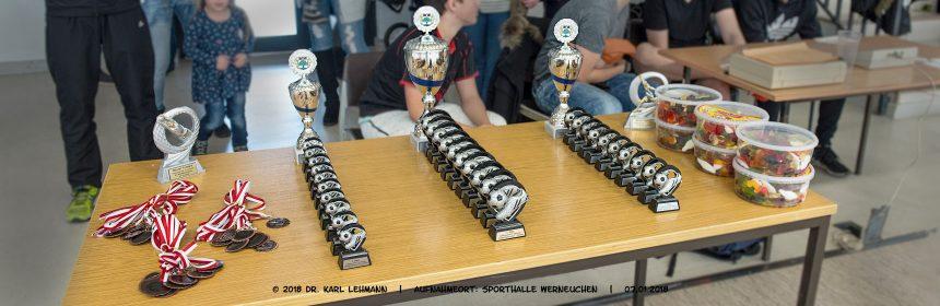 Beitragsbild Hallenfußballturnier 2018 | F-Junioren