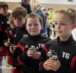 Siegerehrung Hallenfußballturnier F-Junioren 2018