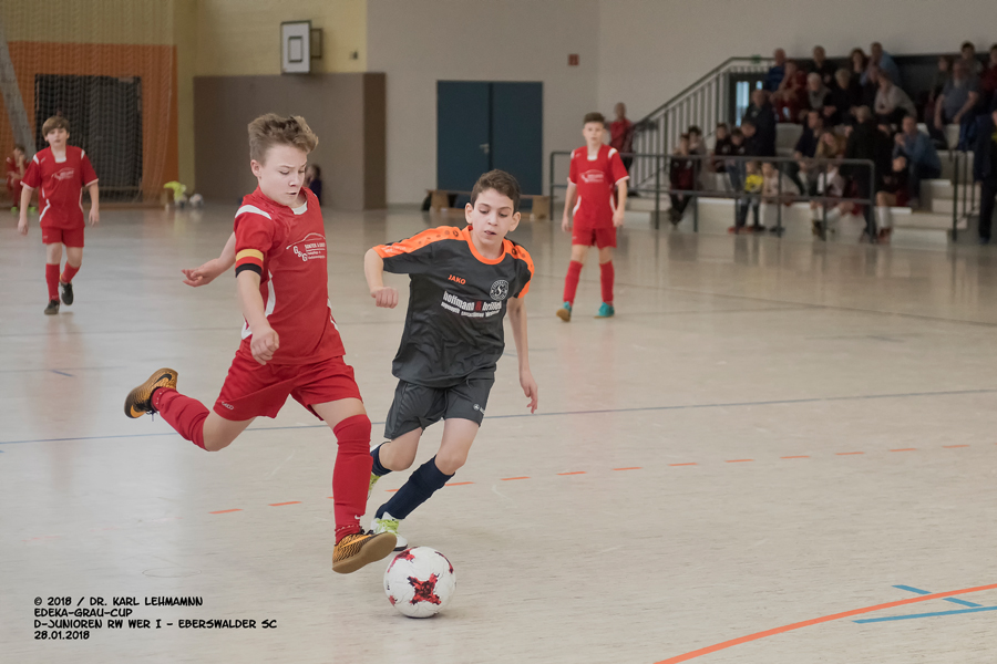 EDEKA-Grau-Cup | D-Junioren | RW WER - Eberswalder SC