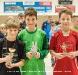 Siegerehrung EDEKA-Grau-Cup | D-Junioren