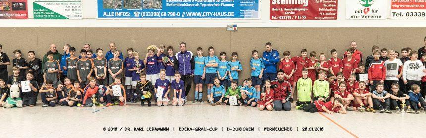 Beitragsbild EDEKA-Grau-Cup | D-Junioren