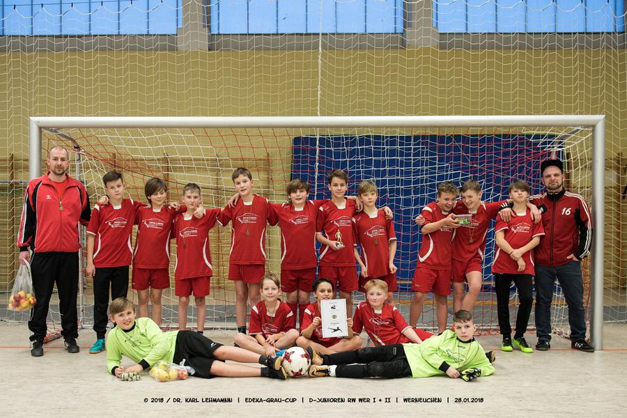 Mannschaften EDEKA-Grau-Cup | D-Junioren | RW WER I + II