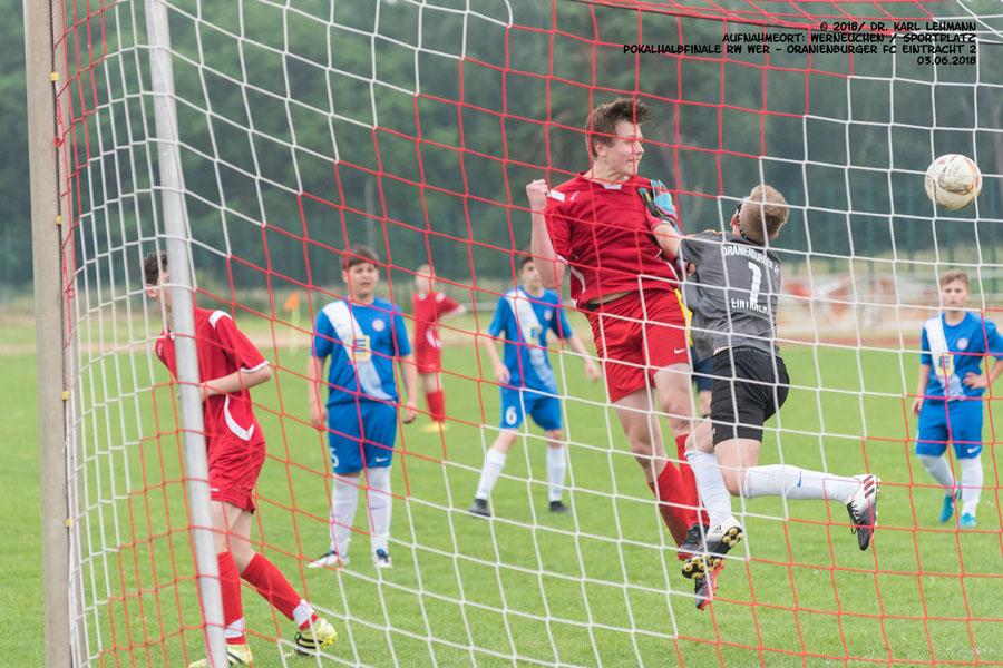 Pokalhalbfinale Jugend C RW WER-Oranienburg